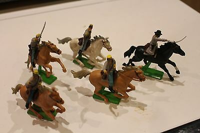ACW Confederate Cavalry, Britains Deetail