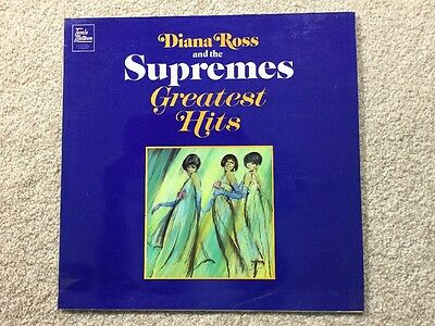 """Diana Ross and The Supremes - Greatest Hits - 12"""" Vinyl - NM Condition"""