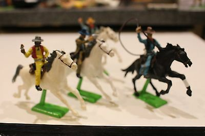 Mounted Cowboys, Britains Deetail