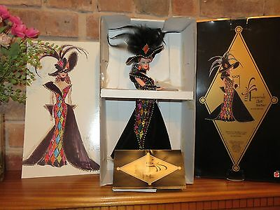 Rare Barbie By Designer Bob Mackie Masquerade Ball 1993 Never Displayed