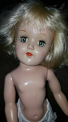 "1950's IDEAL DOLL P-90 TONI  14"" HEIGHT"