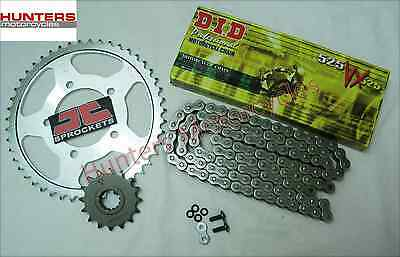 Suzuki SV650 S 1999 to 2009 DID X-Ring Heavy Duty Chain & JT Sprockets Kit Set