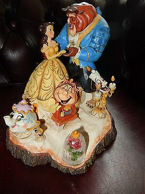 Walt Disney Traditions ''tale As Old As Time'' Beauty And The Beast Lg Figurine
