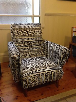 Sprung Seat Armchair For Re-upholster