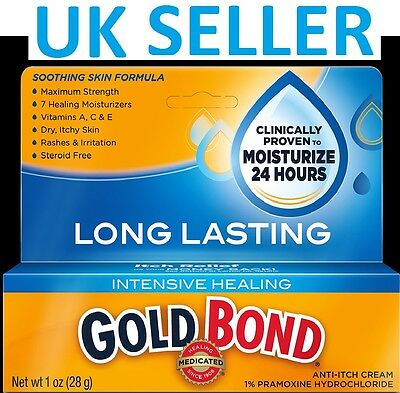 Gold Bond INTENSIVE HEALING Medicated Anti-Itch Cream MAXIMUM STRENGTH