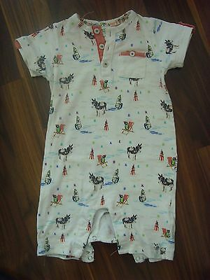 Ted Baker Baby Boy Girl Donkey Playsuit 6-9 Months Multi