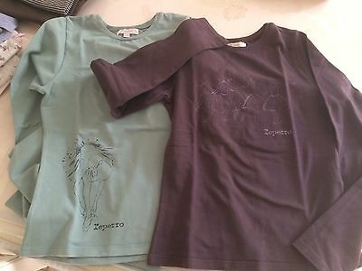 lot 2 tee shirt Repetto 12 ans TBE
