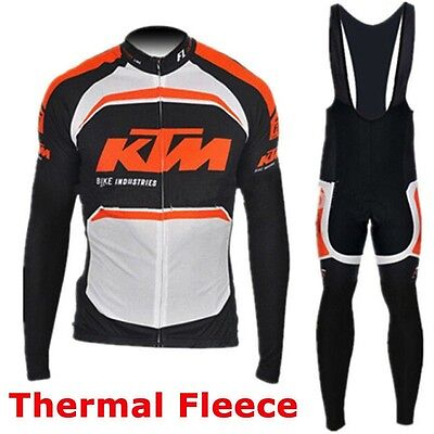 Completo Invernale/Cycling Jersey and pants Team KTM 2016 Thermal Winter