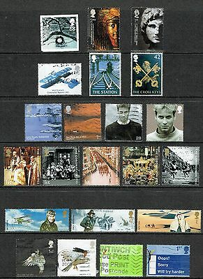 GB Stamps 2003 Selection of Used Commemorative from 2003