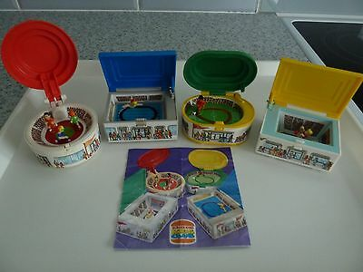 Burger King - Complete Set of Sports Stadiums from 1996 plus ticket