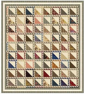 Pumpkin Pie Free Spirit Quilt Kit by Laundry Basket Quilts  for Moda