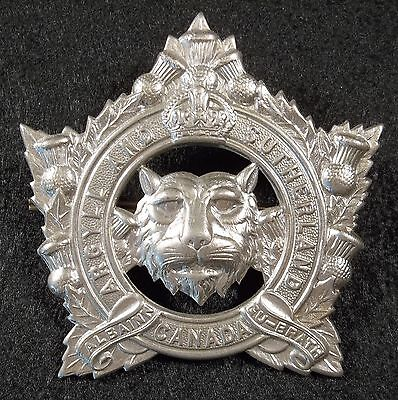The Argyll And Sutherland Highlanders Of Canada