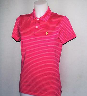 NWOT Womens Ralph Lauren POLO GOLF Tailored Fit Pima Cotton polo shirt Small