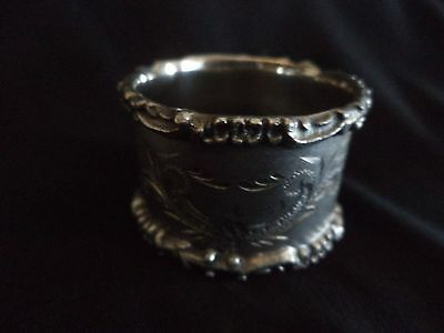 Victorian Silverplate Napkin Ring