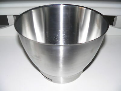 KENWOOD CHEF - Stainless Steel Mixing Bowl (Fits all Chefs) Ex Con.