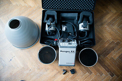 Elinchrom Ranger RX Speed AS Pack with 2x A Heads & Accessories