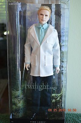 The Twilight Saga: Breaking Dawn - Part 2 Carlisle 2012 Barbie Doll