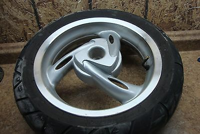 "2008 Lambretta Uno 150 Scooter 120/70-12 12"" Rear Rim Wheel Tire Back"