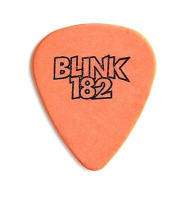 Blink 182 Guitar Pick. 1999 Enema Tour Guitar Pick.