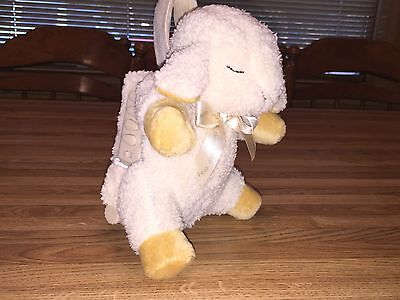 """CLOUD B Sleep Sheep 11"""" White Noise BABY Soother Sound CRIB Lamb CLEAN Timer"""