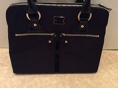 Modalu Large Pippa Black Handbag Excellent Condition With Dust Bag