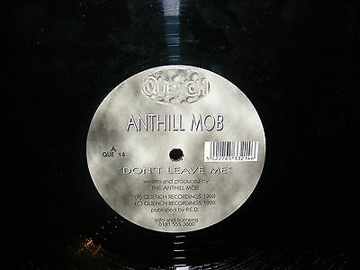 """Anthill Mob 12"""" Don't Leave Me/Listen on Quench VG+ Rare Garage"""