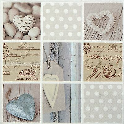 4x Paper Napkins for Decoupage Decopatch Craft Pieces of Memory
