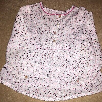 Zara Girls Blouse 18-24 Month In Vgc