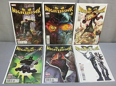 NIGHTHAWK #1 2 3 4 5 6 (Full Run) Unread NM set Marvel 2016 Squadron Supreme