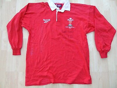 Wales 1998 Match Worn Rugby Shirt /jersey/maillot- Look!!