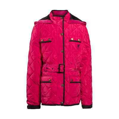 Liverpool FC  LFC Girls Pink Quilted Jacket Official