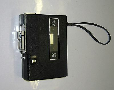 Vintage General Electric Compact Cassette Player Recorder GE Model 3-5311C
