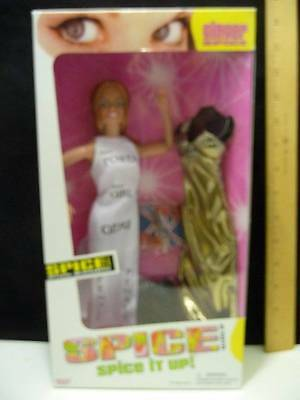 "Galoob Doll Spice Girls Ginger Spice Doll Official Merchandise #23550 12"" NIB"