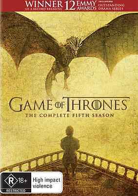 Game Of Thrones COMPLETE Season 5 : NEW DVD