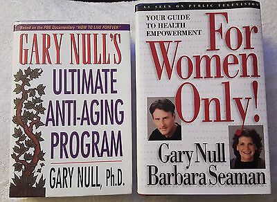 Mixed Lot of Gary Null Power Pack Lot (Two Very Powerful Books)