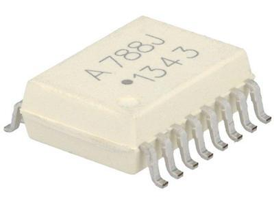 HCPL-788J-000E Optocoupler SMD Channels1 Out isolation amplifier AVAGO