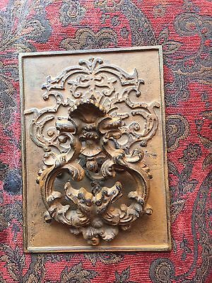 Antique Vintage Metal Victorian Ornate Door Knocker
