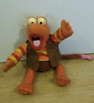 Vintage 1984 Fraggle Rock Gobo Soft Toy Approx 16 Inches Tall