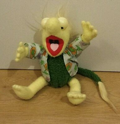 Vintage 1984 Wembley Fraggle Rock Soft Toy Approx 16 Inches Tall