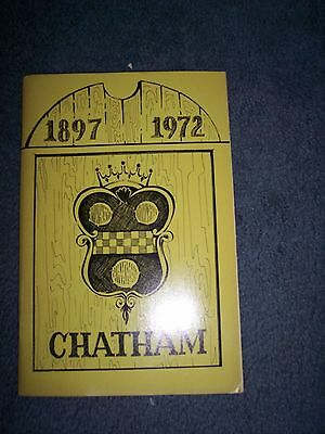 Vintage 1972Chatham New Jersey 1897-1972 Booklet