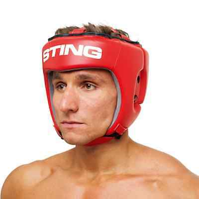 Sting Sports AIBA Competition Leather Head Guard