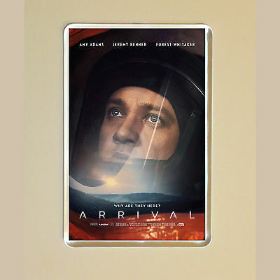 Arrival - Amy Adams - Jeremy Renner - Forest Whitaker - Photo Fridge Magnet #3