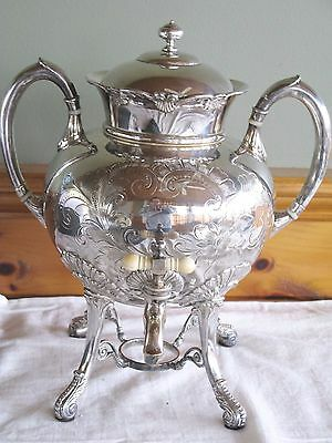 1800's Hartford Silverplate Samovar