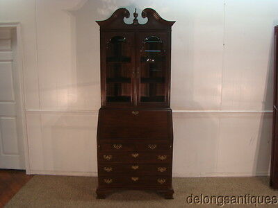 33731 Ethan Allen Solid Cherry Bookcase Desk
