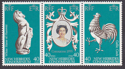 New Hebrides MNH Set 1978 Anniv Queen Elizabeth Coronation (AC_03a)