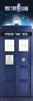 "Doctor Who Door Poster ""1.5 Meter Tall"" Tardis ""licensed"" Brand New ""phone Booth"