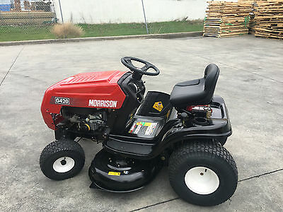 """New Fully Auto Morrison Ride On Mower by Masport Briggs 17.5HP 42"""" cut SAVE $800"""