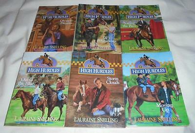 Set of 6 High Hurdles books by Lauraine Snelling