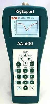 RigExpert AA-600 - Analizzatore d'antenna (0.1 to 600 MHz)  - SM ELETTRONICA