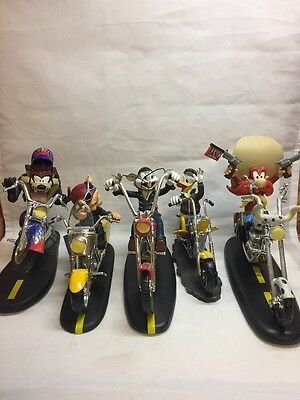 Looney Tunes Bikers Collection Set Of 5